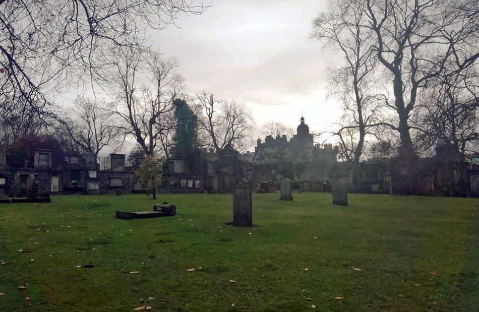 Cimitero Greyfriars edimburgo 3 giorni
