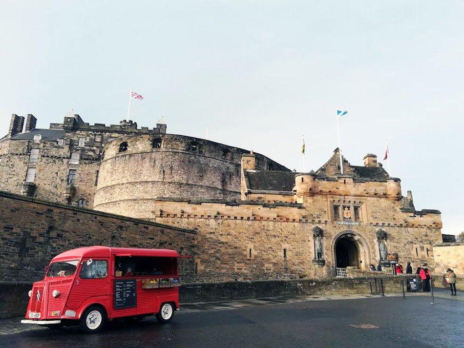 Edinburgh Castle edimburgo 3 giorni