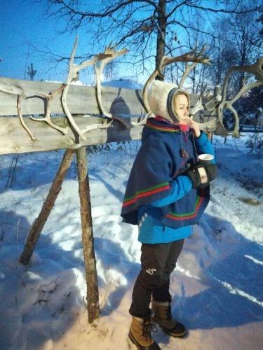 villaggio sami lapponia svedese