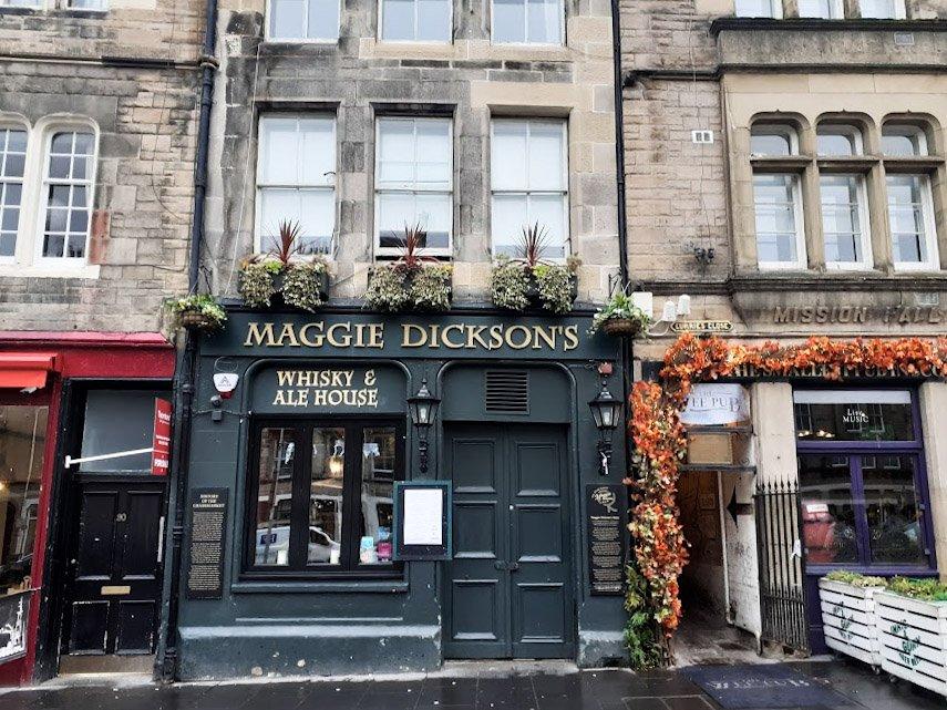 Maggie Dickson Pub Edimburgo