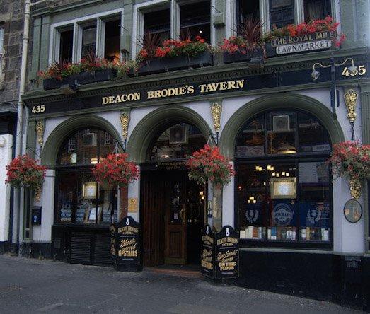 Deacon Brodie's Tavern pub edimburgo