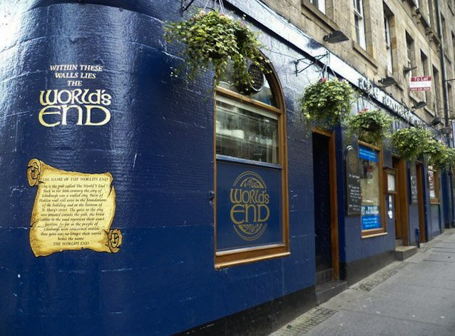 The World's End pub edimburgo