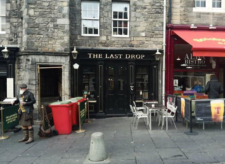 The Last drop pub Edimburgo